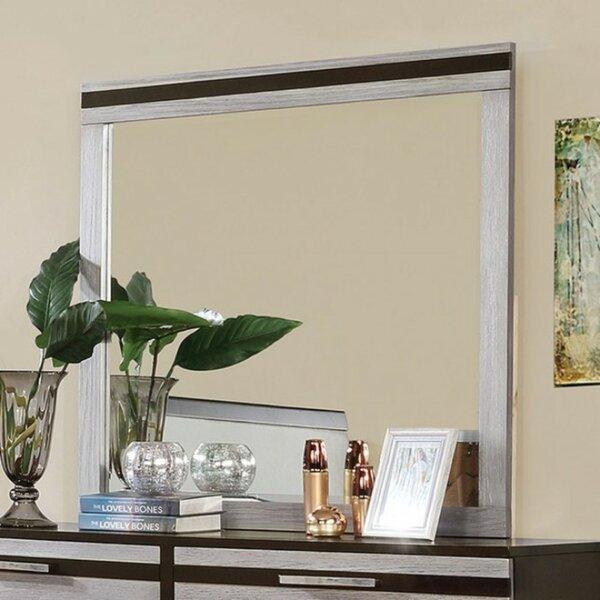 Pouliot Bathroom/Vanity Mirror by Union Rustic