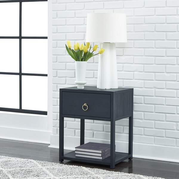 Nagle End Table With Storage By Wrought Studio