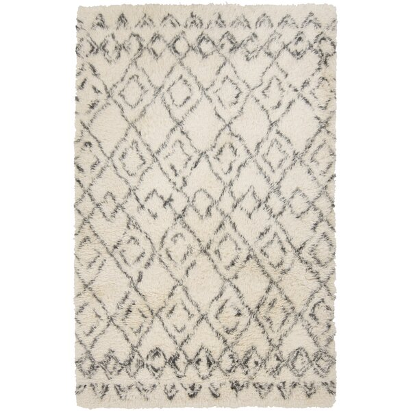 Santos Hand Woven Wool Ivory Area Rug by Union Rustic