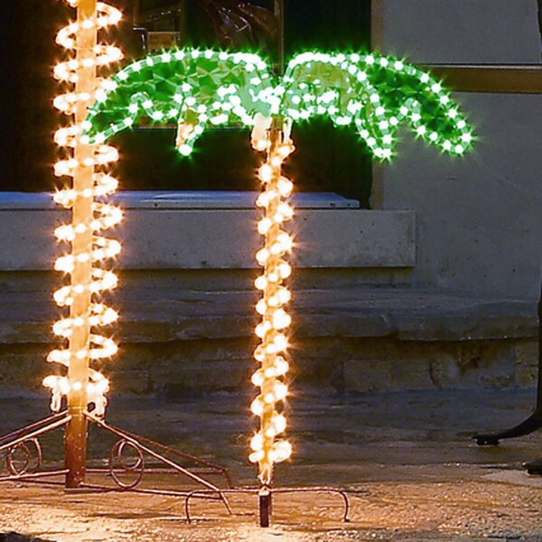 Palm Tree 2.5 ft. Rope Light by Roman, Inc.