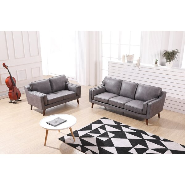 Westbury Modern Luxurious 2 Piece Living Room Set by George Oliver