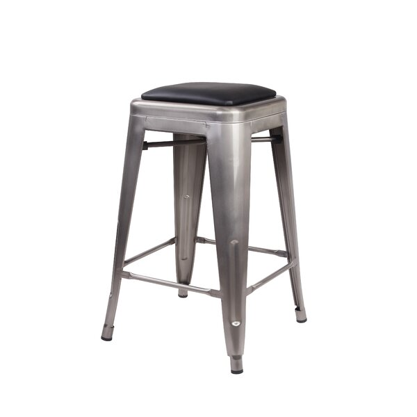 Apsel 24 Bar Stool (Set of 4) by 17 Stories