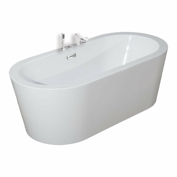 59 x 30 Freestanding Soaking Bathtub by WoodBridge