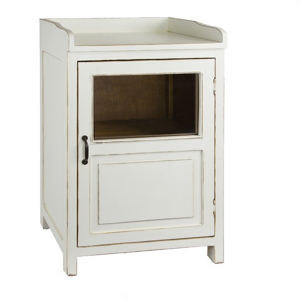 Madeline Display 1 Door Accent Cabinet by Antique Revival