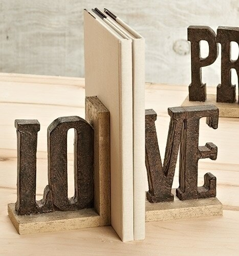 Love Bookends (Set of 2) by Roman, Inc.