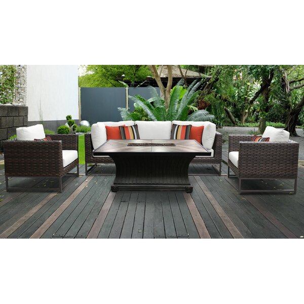 Mcclurg 6 Piece Sectional Seating Group With Cushions By Darby Home Co