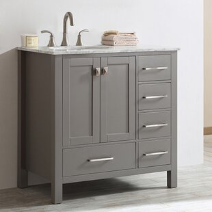 Farmhouse Rustic Vanities Birch Lane - 33 inch bathroom vanity