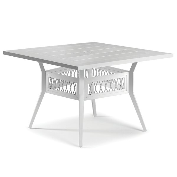 Echo Bay Aluminum Dining Table by Eddie Bauer