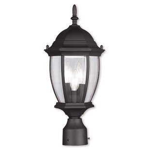 Great Price Beth Outdoor 3-Light Lantern Head By Darby Home Co