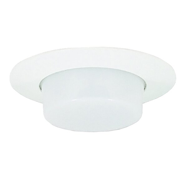 Lexan Drop Opal Shower 6 Recessed Trim by Royal Pacific