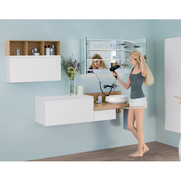 Free 31.5 W x 23.62 H Wall Mounted Cabinet by Ronbow