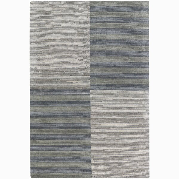 Rosecroft Stripe and Checked Area Rug by Breakwater Bay