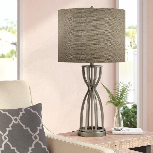 Ashville Caged Base Metal 32.5 Table Lamp by Latitude Run