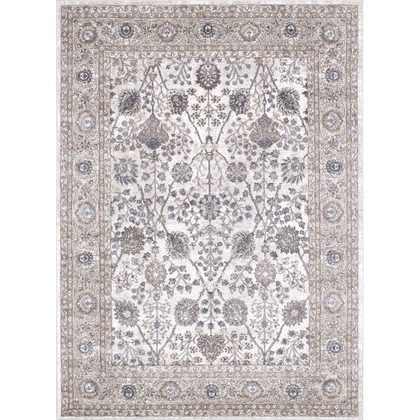 Berneen Traditional Floral Tusk Area Rug by Darby Home Co