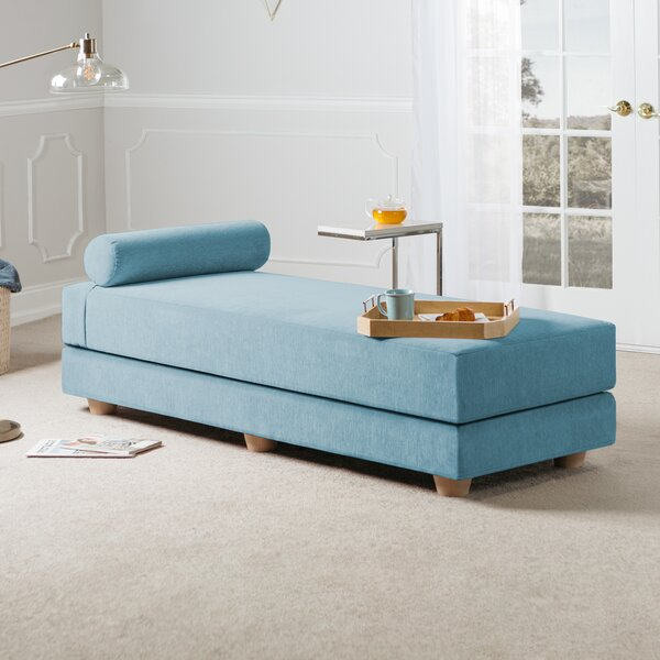 Frohna Chenille Queen Daybed with Mattress by Brayden Studio