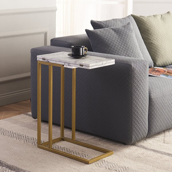 Deleo End Table By Everly Quinn