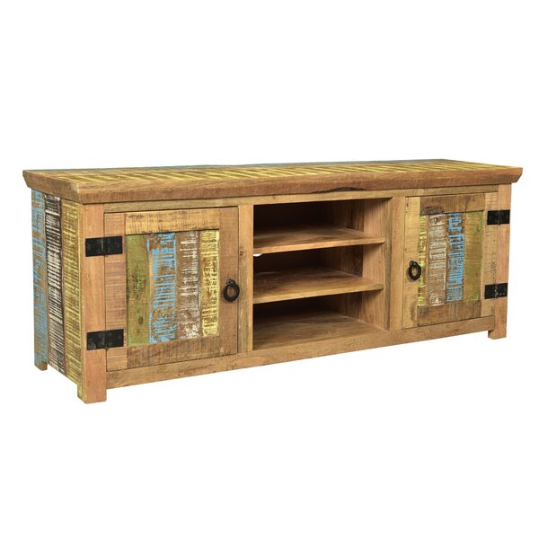 Natascha Solid Wood TV Stand For TVs Up To 65