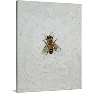 Bee by Michael Creese Painting Print on Canvas by Canvas On Demand