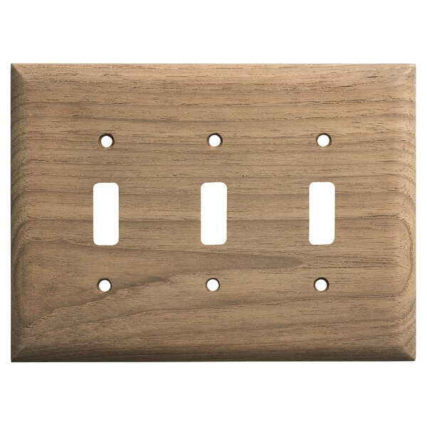 3 Toggle Light Switch Cover by Whitecap Industries