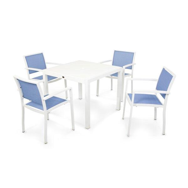 Bayline 5 Piece Dining Set by POLYWOOD®