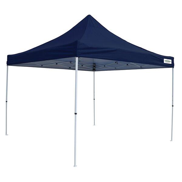 M-Series Pro 10 Ft. W x 10 Ft. D Steel Pop-Up Canopy by Caravan Sports