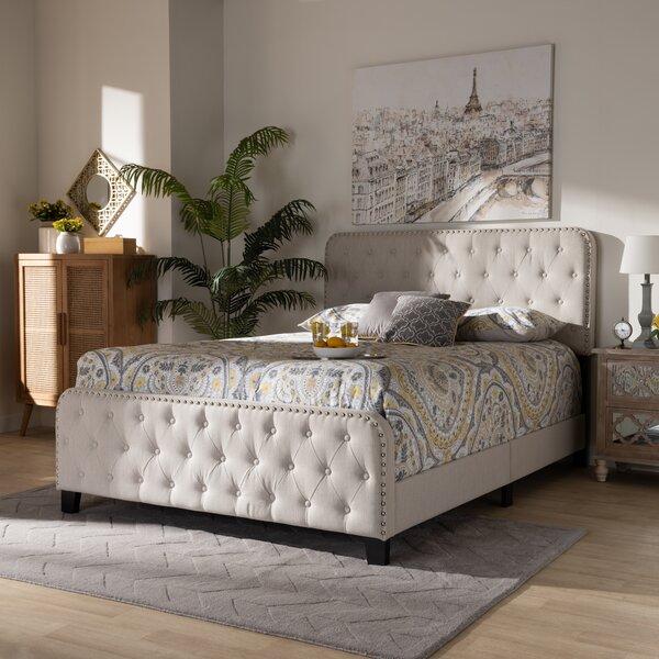 Ardos Upholstered Standard Bed by Winston Porter