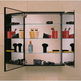 Reviews PL Series 23.25 x 30 Recessed or Surface Mount Medicine Cabinet By Robern
