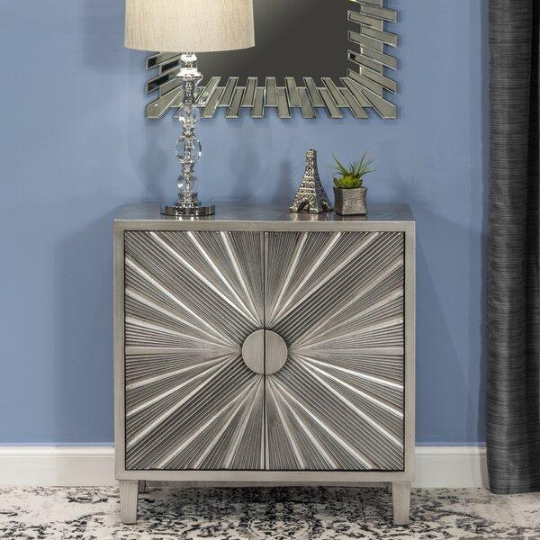 Huston 2 Door Accent Cabinet by Wrought Studio