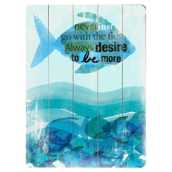 Be More Painting Print Multi-Piece Image on Wood by Artehouse LLC