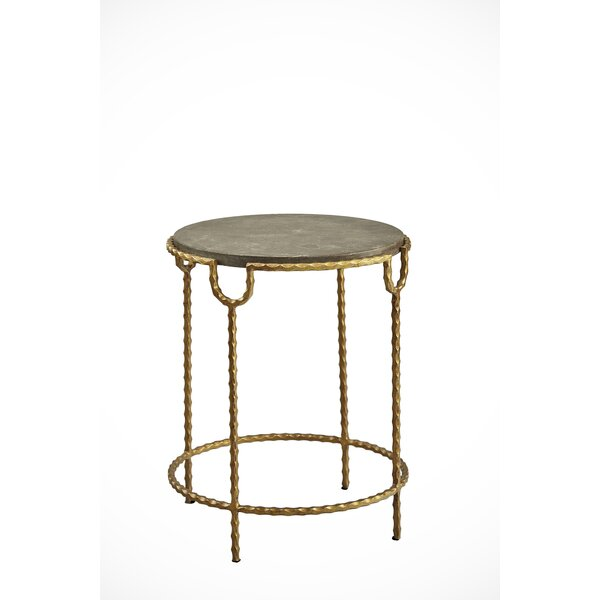 Hyacinth End Table by 17 Stories