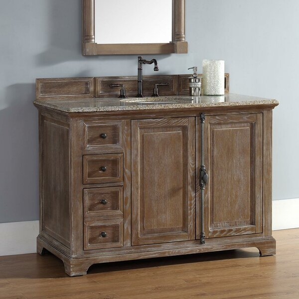 Ogallala 48 Single Driftwood Bathroom Vanity Set by Greyleigh