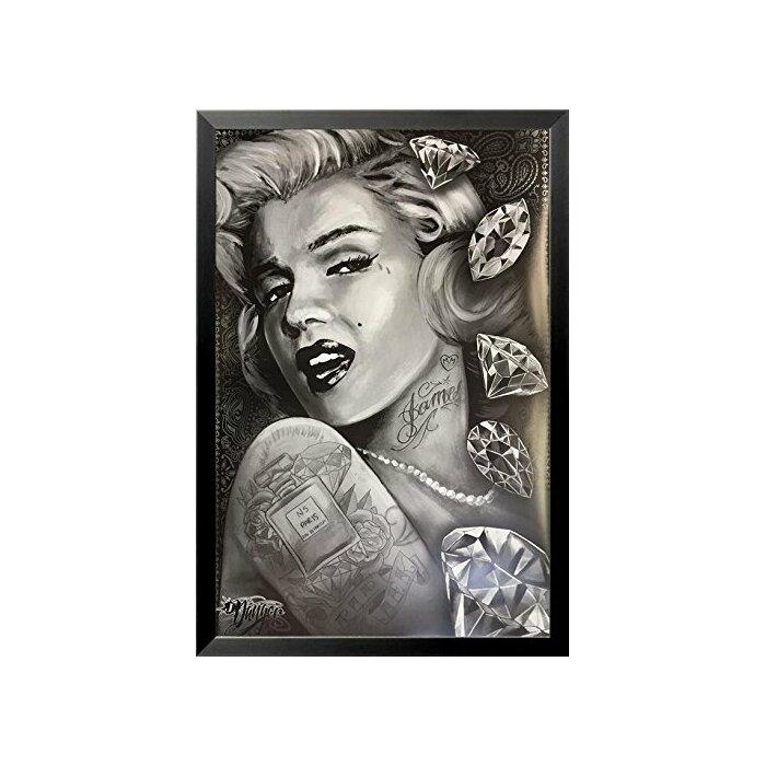 Buy Art For Less Marilyn Monroe Diamonds by James Danger Harvey ...