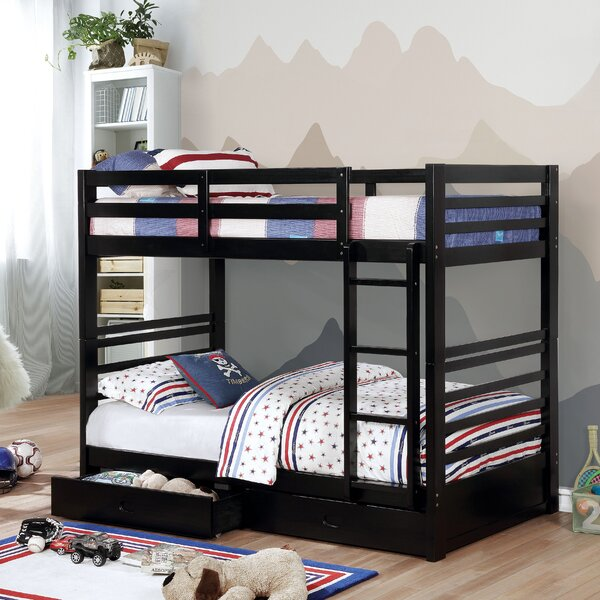 Stutz Twin Bunk Bed with Drawers by Harriet Bee