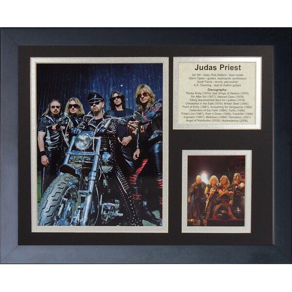 Judas Priest Framed Memorabilia by Legends Never Die