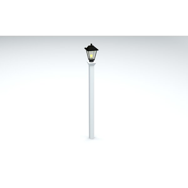 Sofia 73 Lamp Post with EZ Mount by Charlton Home