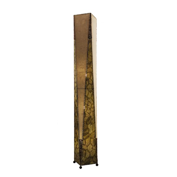 Trapezoid 72 Column Floor Lamp by Eangee Home Design