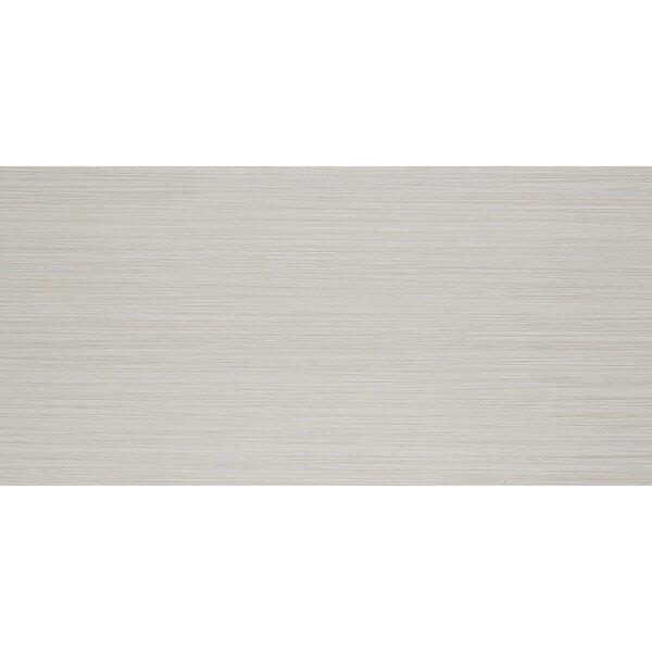 Fabrique 12 x 24 Porcelain Wood Look Tile in Crème Linen by Daltile