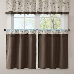 Bon Aqua Kitchen Curtains | Wayfair
