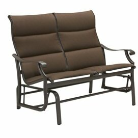 Montreux Padded Sling Glider Bench by Tropitone
