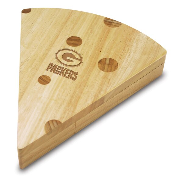 NFL Green Bay Packers Swiss Cheese Board Set by TOSCANA™