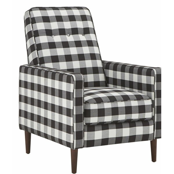 Boothby Buffalo Check Armchair by Gracie Oaks