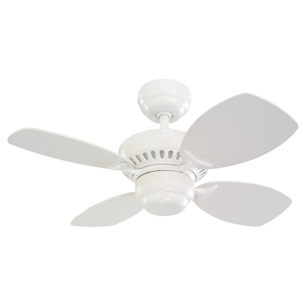 28 Stewardson 4-Blade Ceiling Fan by Charlton Home