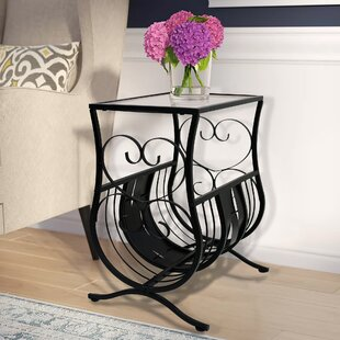 Bargain Whipton Magazine End Table By Fleur De Lis Living