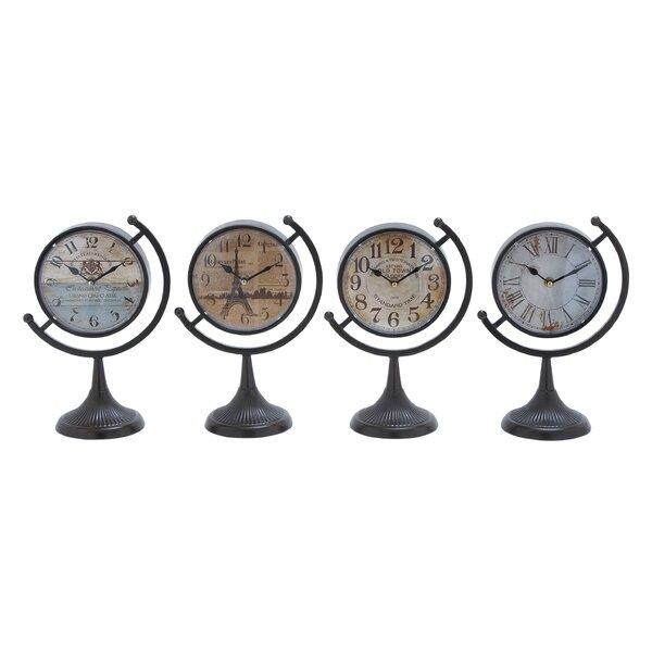 Desk Clock Set (Set of 4) by Cole & Grey