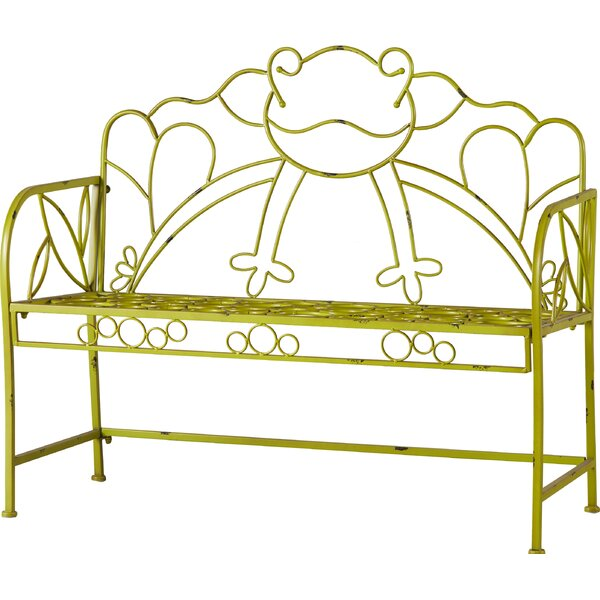 Tatyana Iron Garden Bench by Zoomie Kids