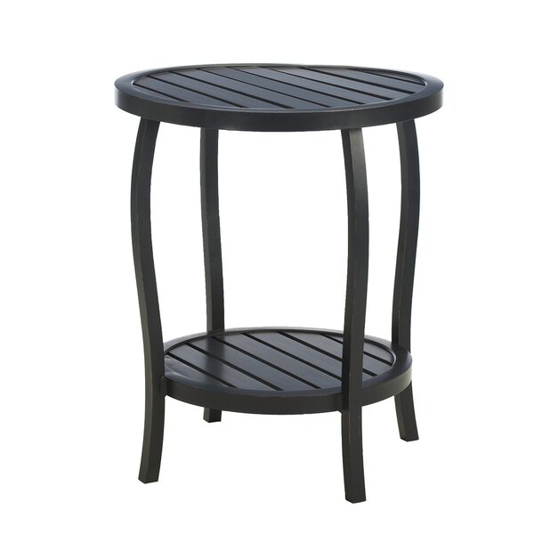 Cottage Wrought Aluminum Side Table by Summer Classics