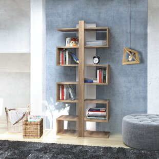 Phan Ionis Modern Geometric Bookcase by Wrought Studio New