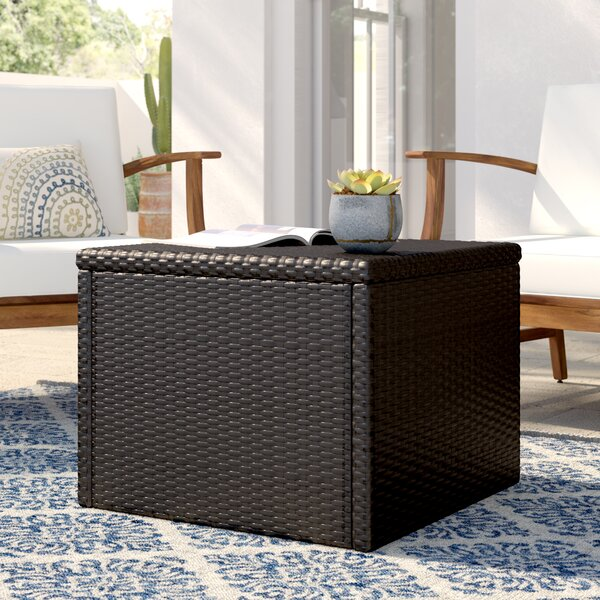 Commodore Wicker/Rattan Coffee Table by Mistana
