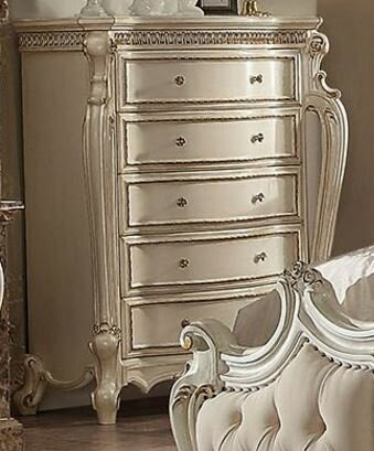 Jardine Traditional 5 Drawer Chest by Rosdorf Park