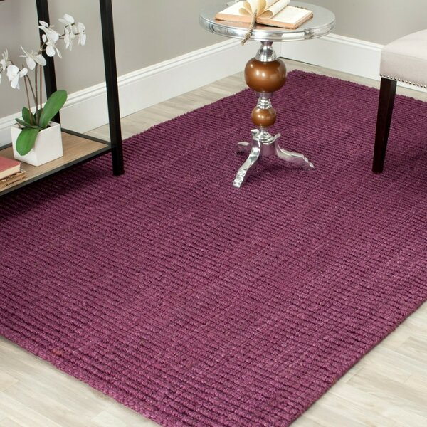 Shapiro Purple Area Rug by Wrought Studio